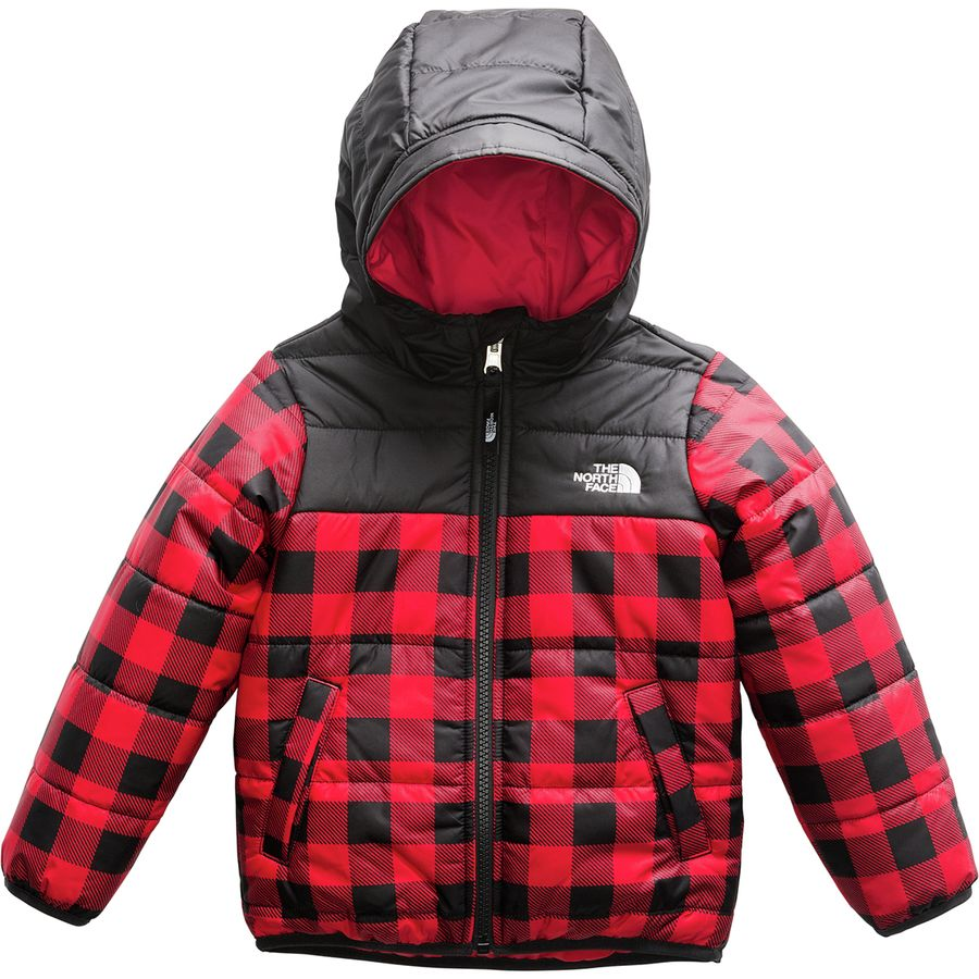 236bd7c3926f The North Face - Perrito Reversible Hooded Jacket - Toddler Boys  - Tnf Red  Buffalo
