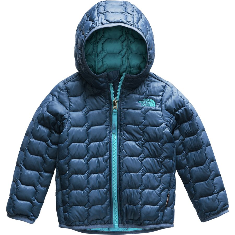 9bb58c211ebe The North Face - ThermoBall Hooded Insulated Jacket - Toddler Boys  - Shady  Blue