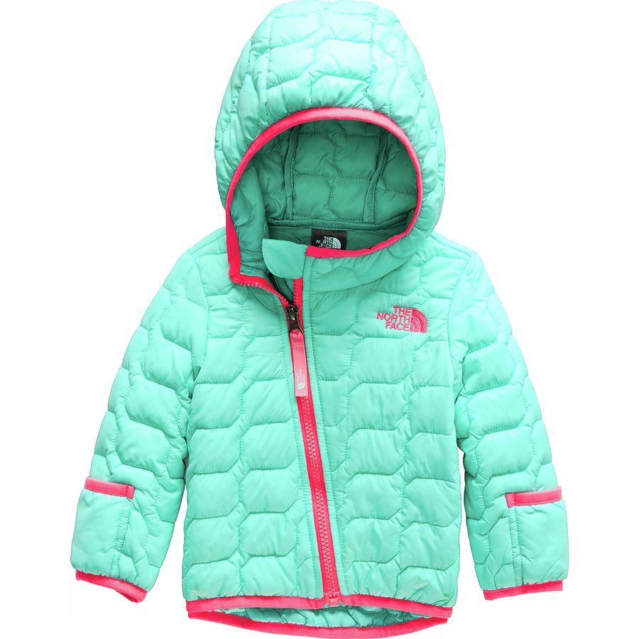 771a38d52eeb The North Face - ThermoBall Hooded Insulated Jacket - Infant Girls  - Mint  Blue
