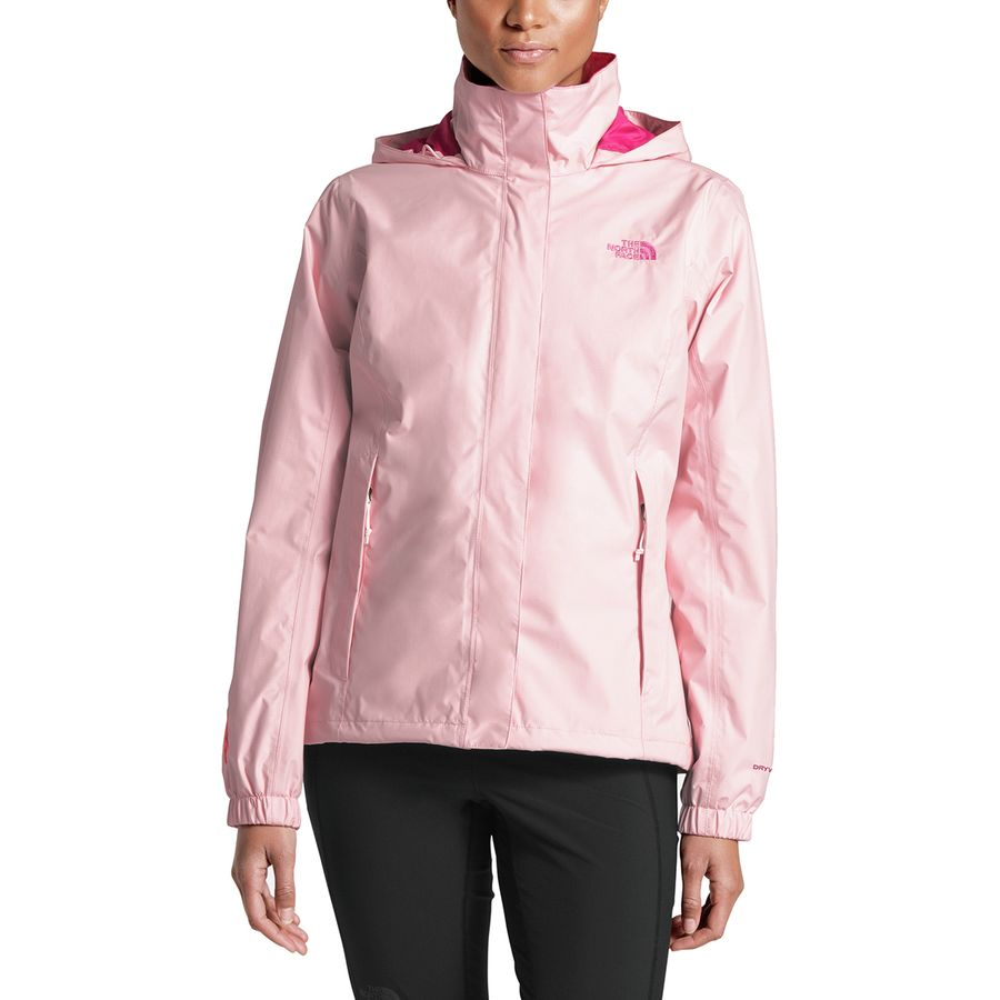8e9adf9f29f6 The North Face - Pink Ribbon Resolve Jacket - Women s - Purdy Pink Raspberry  Rose