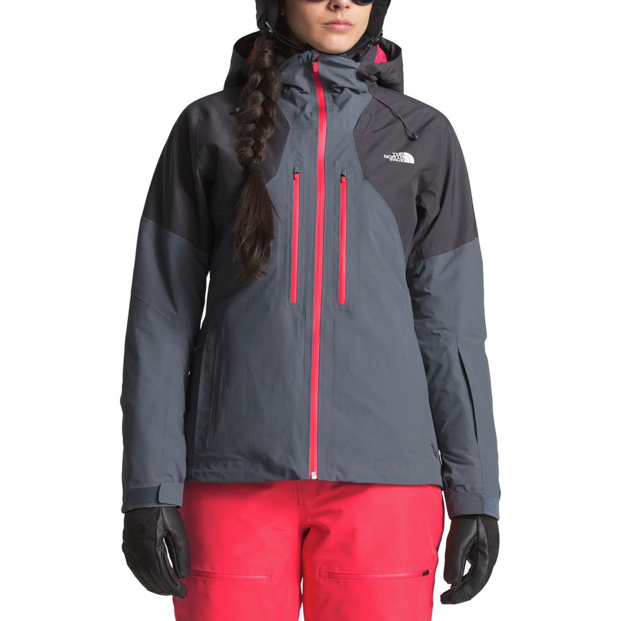 c8cfb810207b The North Face - Powder Guide Hooded Jacket - Women s - Periscope Grey Grisaille  Grey