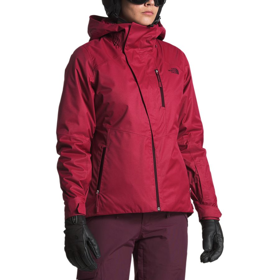 2e23af2e8 spain north face womens triclimate 3 in 1 jacket orange red gray ...