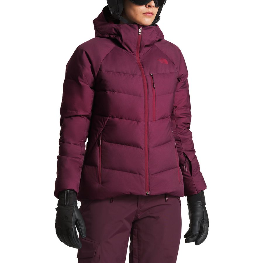 The North Face - Heavenly Hooded Down Jacket - Women s - Fig b782f59c18
