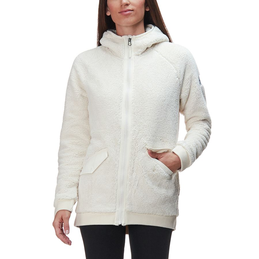 The North Face - Campshire Bomber Jacket - Women s - Vintage White 4040f6d8a