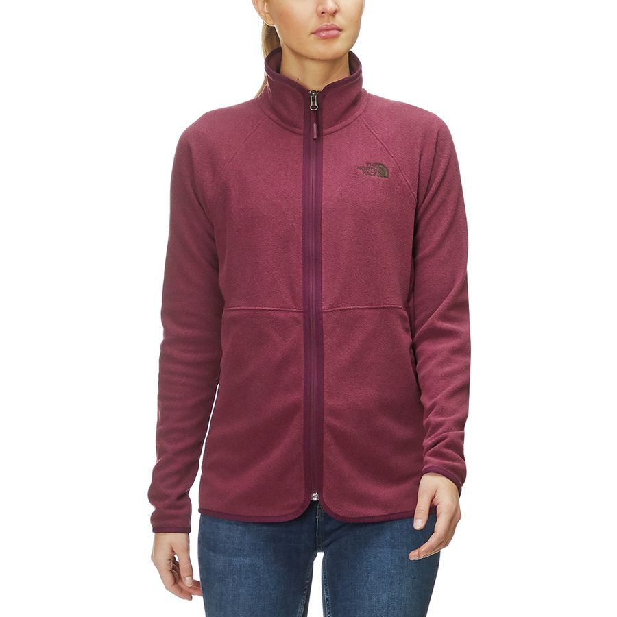 b5910465e5c8 The North Face - Glacier Alpine Full-Zip Jacket - Women s - Fig Heather