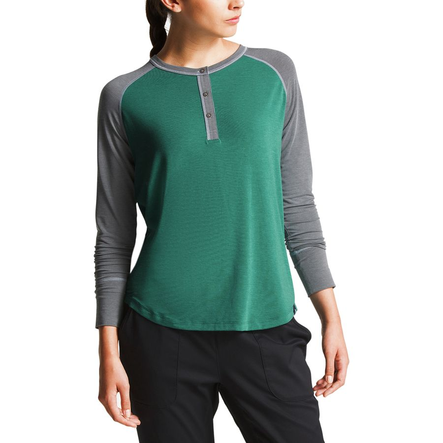 67fa1df46 The North Face In-A-Flash Raglan Long-Sleeve T-Shirt - Women's