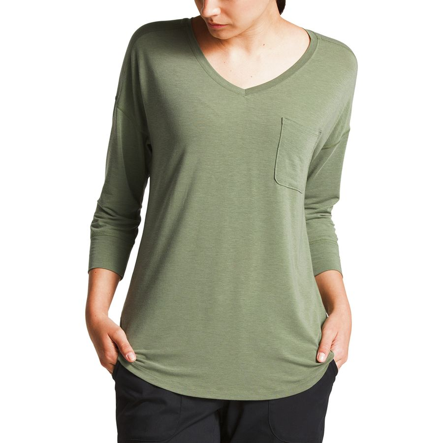 299cc155bfba8 The North Face In-A-Flash 3 4-Sleeve Top - Women s