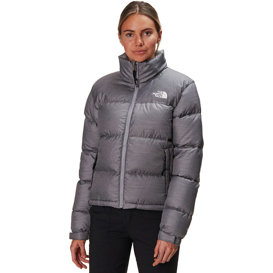 The North Face - 1996 Retro Nuptse Jacket - Women s - Tnf Medium Grey  Heather 2fa97fefdd