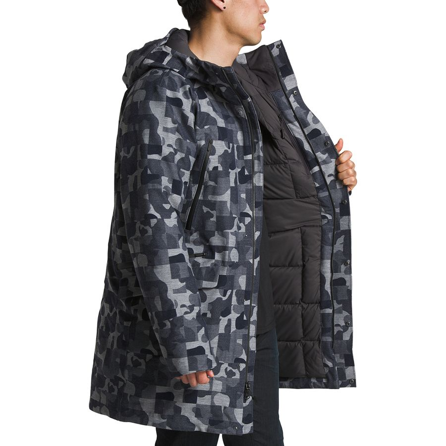 7a90a5779ff The North Face Cryos Wool Blend GTX Down Parka - Men's | Backcountry.com