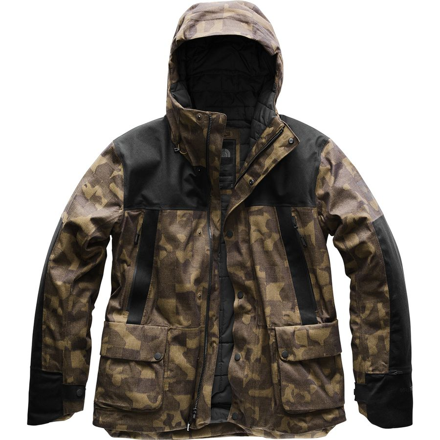 3be7f33919b0e The North Face - Cryos Insulated Mountain GTX Jacket - Men's - Bronze Mist  Jacquard/