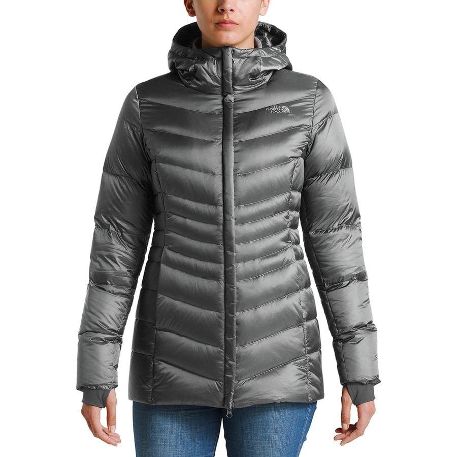 aa00a9167f The North Face - Aconcagua Hooded Parka - Women s - Shiny Mid Grey