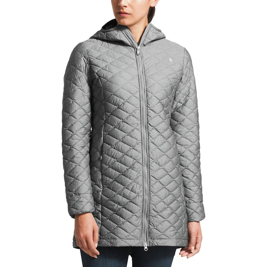 The North Face - ThermoBall Insulated Parka II - Women s - Tnf Medium Grey  Heather 254561bba