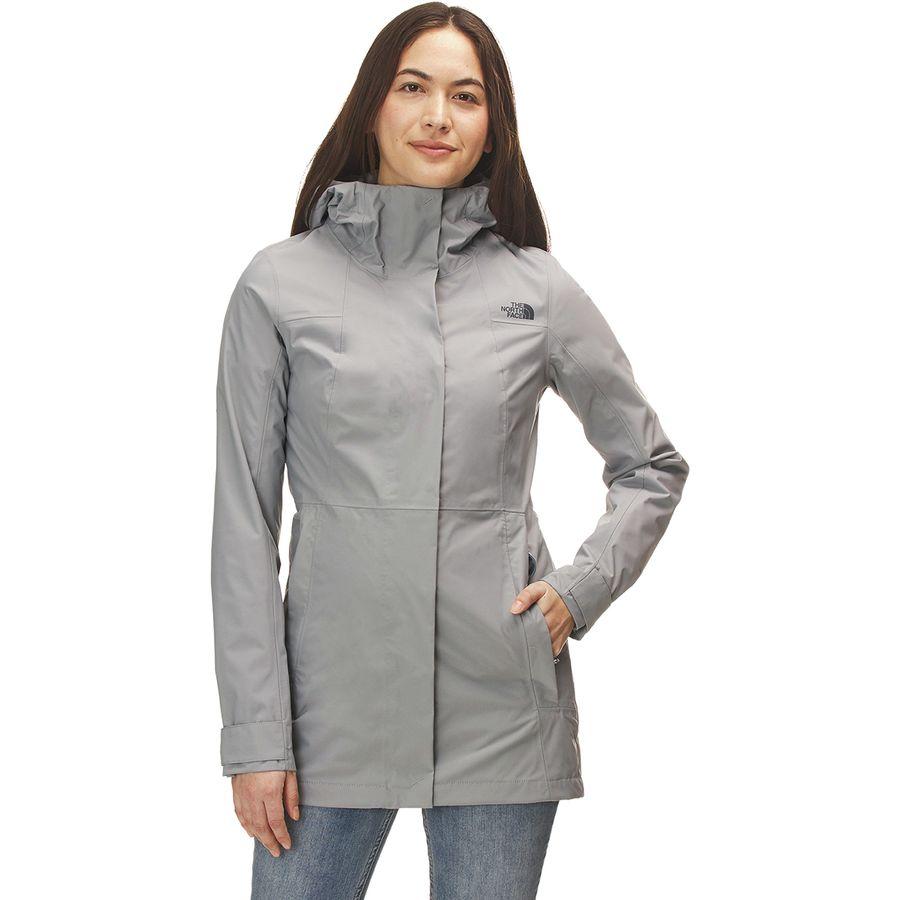 15067c74fac0 The North Face - City Midi Trench Jacket - Women s - Mid Grey