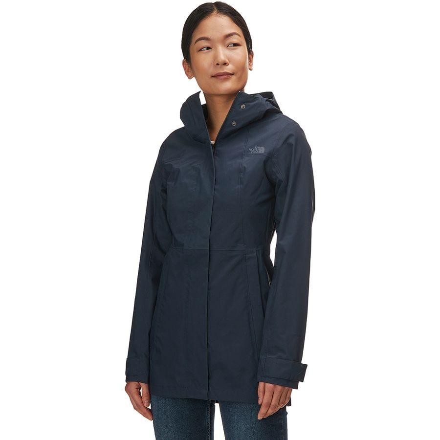 b267db6a75 The North Face - City Midi Trench Jacket - Women s - Urban Navy