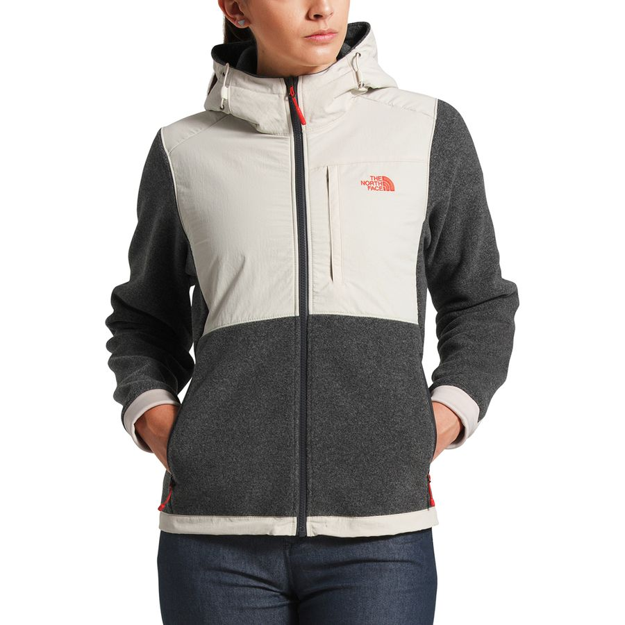 The North Face Denali 2 Hooded Fleece Jacket Women S Tnf Dark Grey Heather