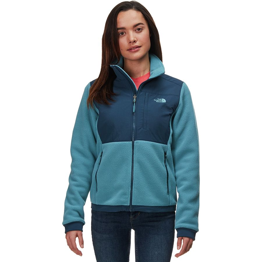 83d1b56c6c50 The North Face - Denali 2 Fleece Jacket - Women s - Blue Wing Teal Storm