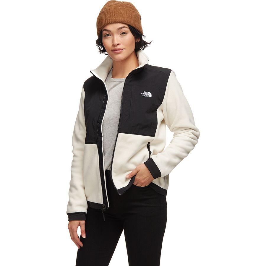 Northface Women Denali Jacket Brown Large Size