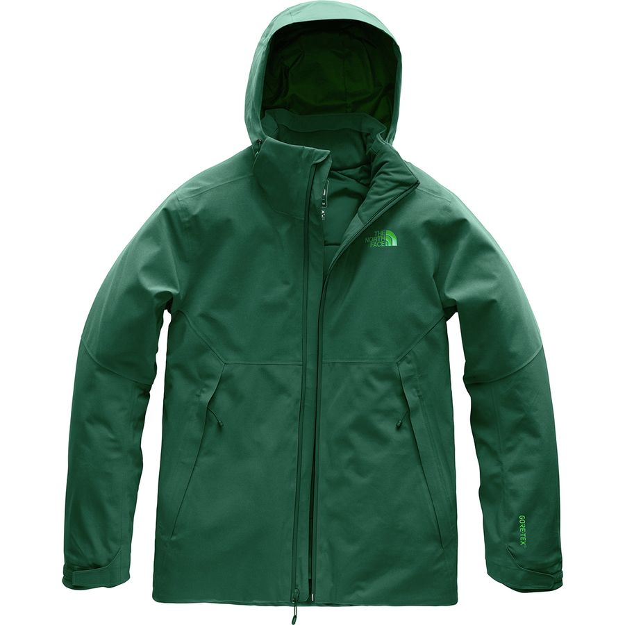 31581c61554a The North Face - Apex Flex GTX Thermal Hooded Jacket - Men s - Botanical  Garden Green