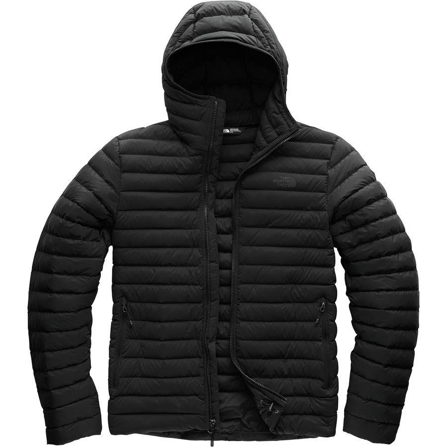 cba1edc4d313 The North Face - Stretch Down Hooded Jacket - Men s - Tnf Black Tnf Black