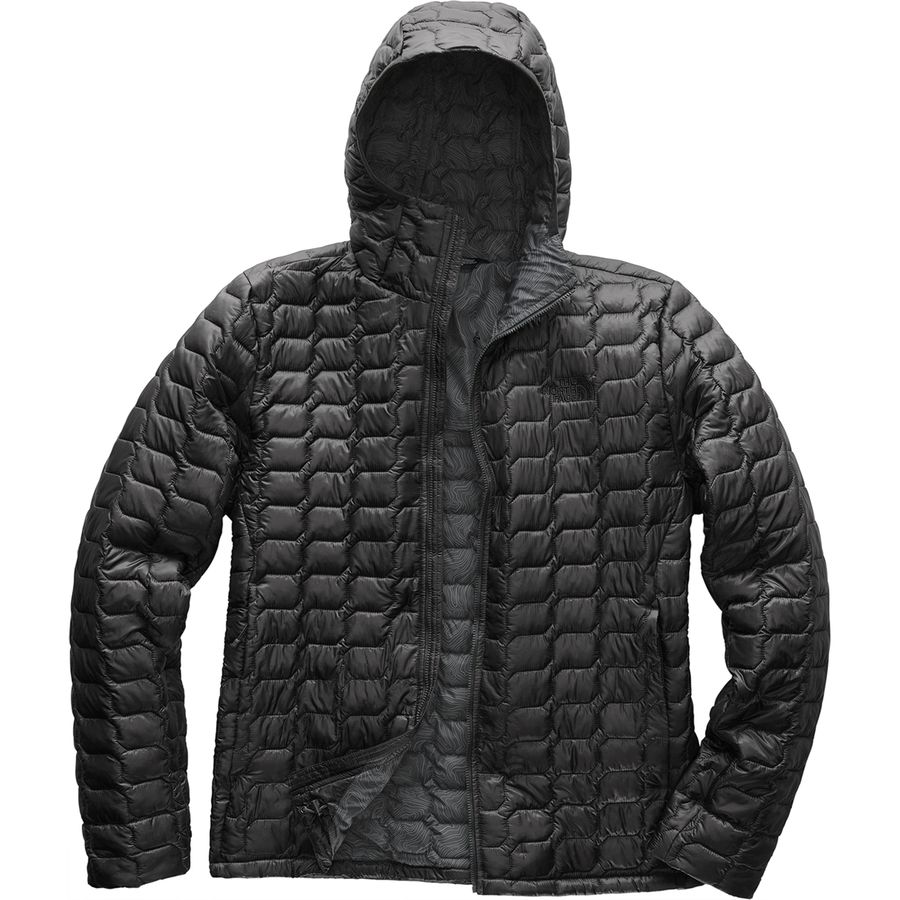 acc16a71e135 The North Face - ThermoBall Hooded Insulated Jacket - Men s - Asphalt  Grey Asphalt Grey