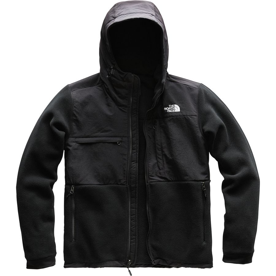 ff16feed7379 The North Face - Denali 2 Hooded Fleece Jacket - Men s - Recycled Tnf Black
