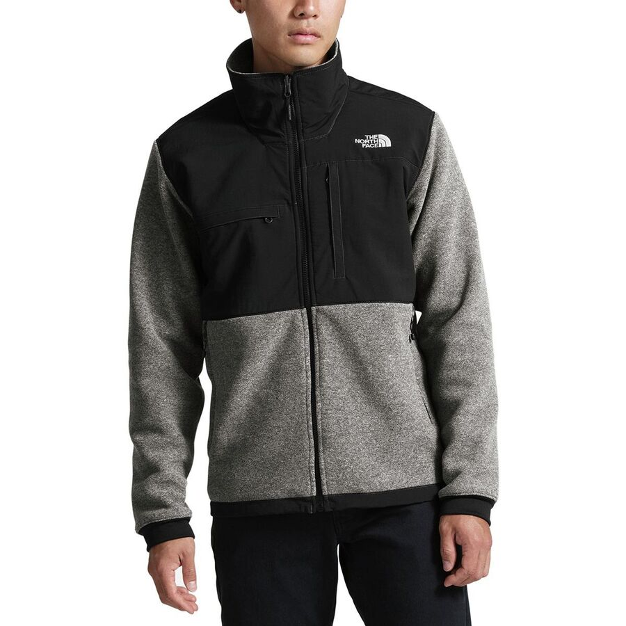 fb5b8acc1672 The North Face - Denali 2 Fleece Jacket - Men s - Recycled Charcoal Grey  Heather