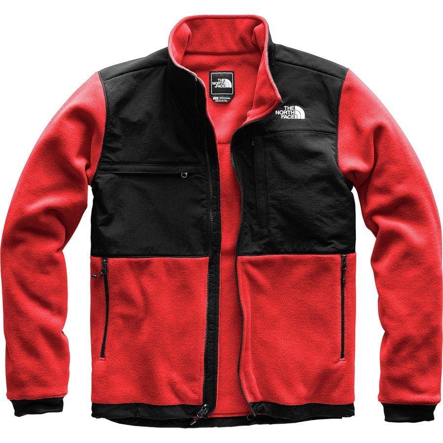 c7869ee1ec44 The North Face - Denali 2 Fleece Jacket - Men s - Tnf Red Tnf Black