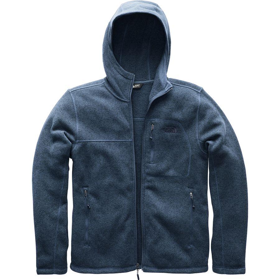 eaa49f189b93 The North Face - Gordon Lyons Hooded Fleece Jacket - Men s - Shady Blue  Heather