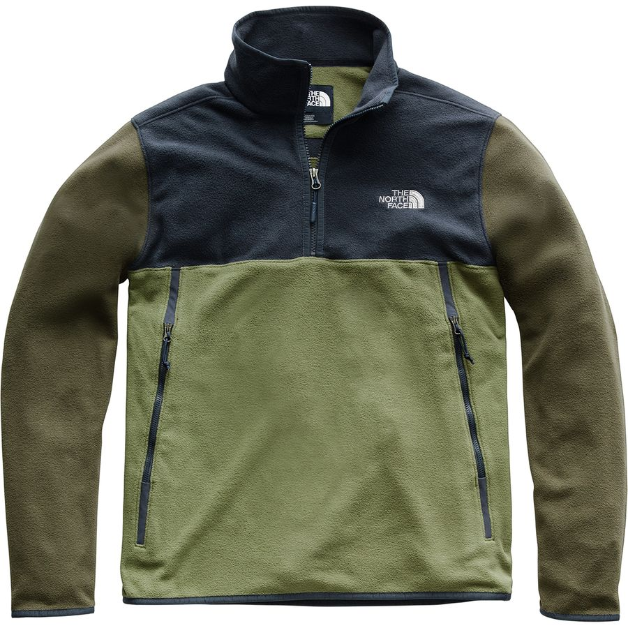The North Face Glacier Alpine 1 4-Zip Fleece Pullover Jacket - Men s ... bdae5691a
