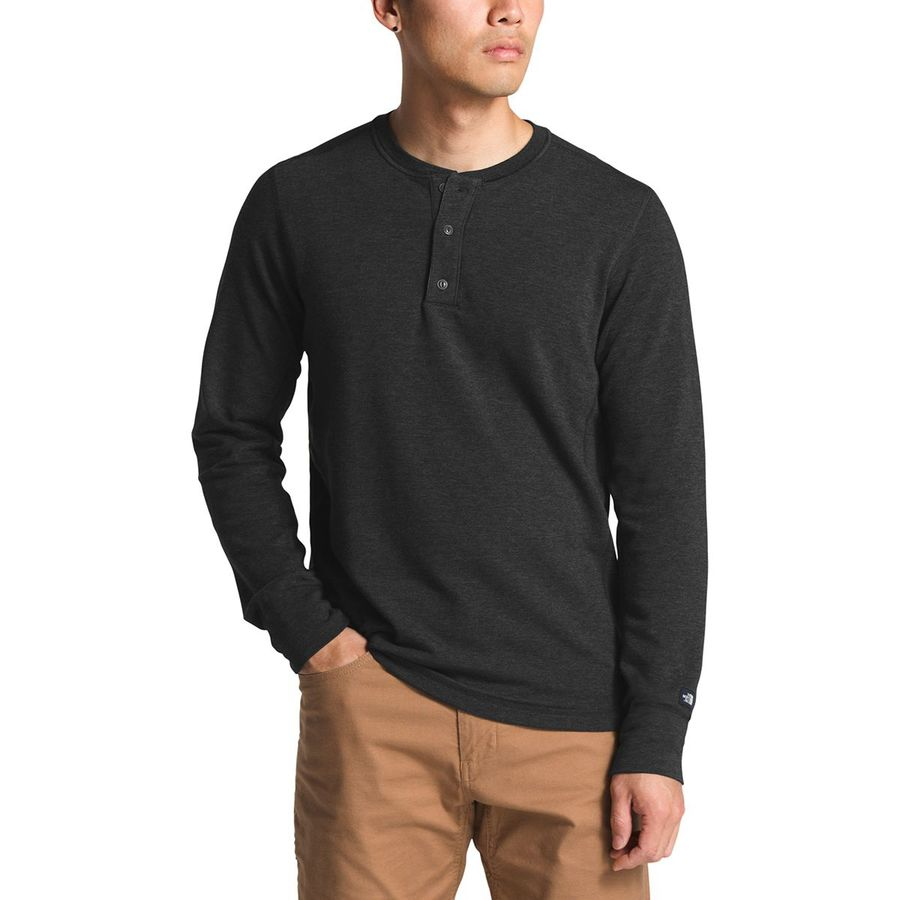 a172c5367 The North Face Terry Long-Sleeve Henley Shirt - Men's