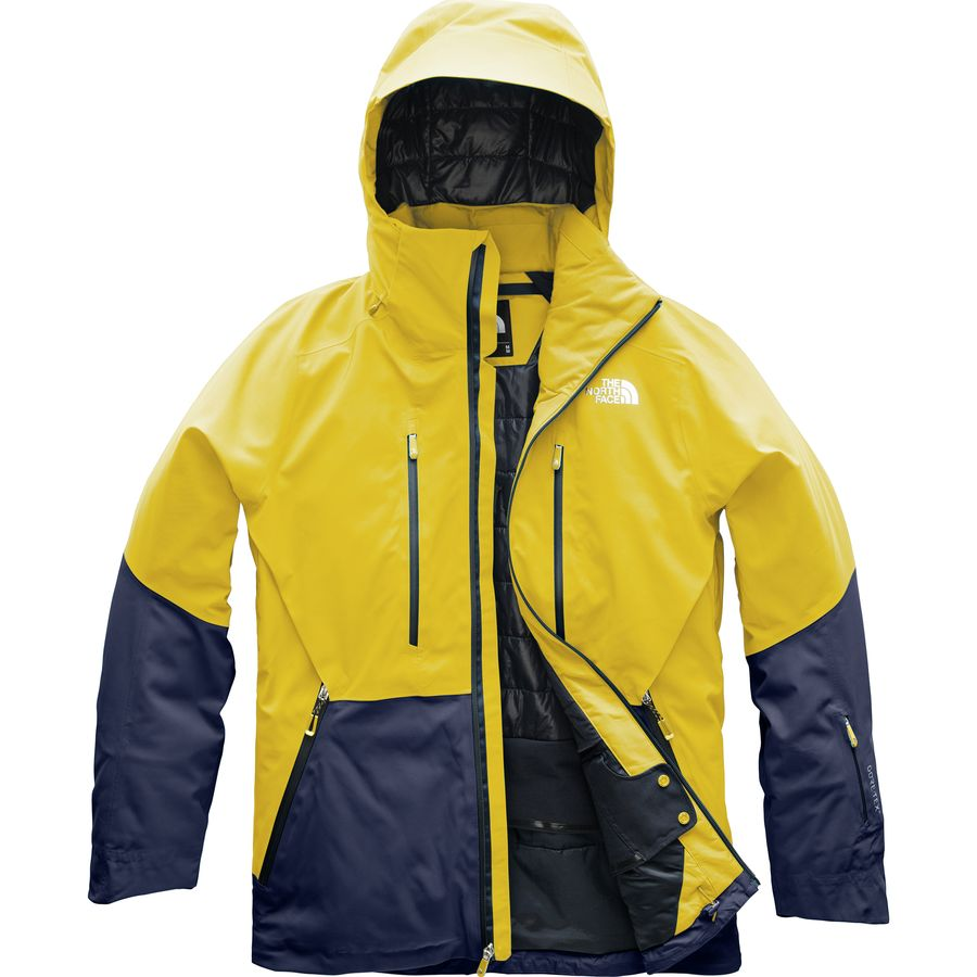 a221ca765367 The North Face - Anonym Hooded Jacket - Men s - Leopard Yellow Urban Navy