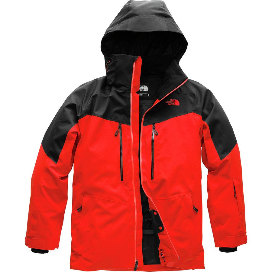 The North Face - Chakal Jacket - Men s - Fiery Red Tnf Black a00d5ab43ba1