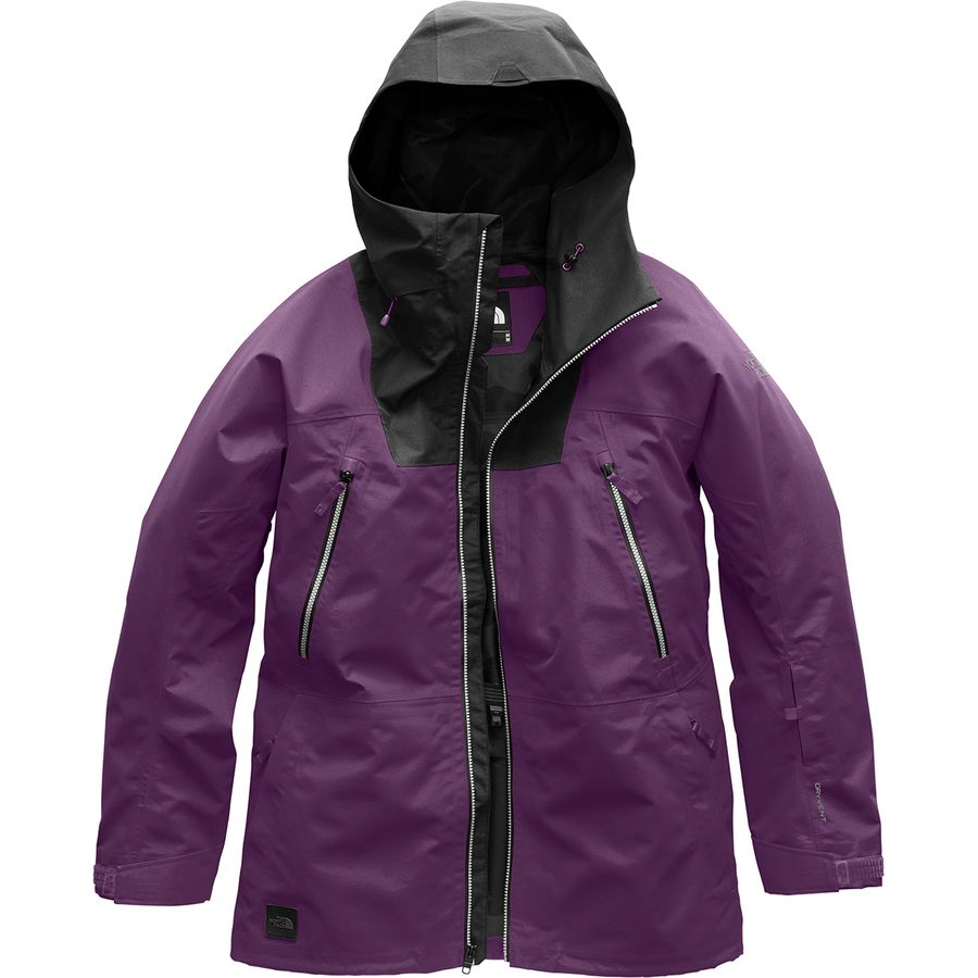 986d75613324 The North Face - Ceptor Hooded Jacket - Men s - Black Currant Purple Tnf  Black