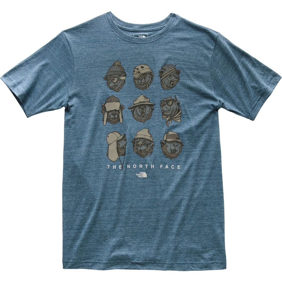 The North Face Tri Blend Bear Activities T Shirt Mens