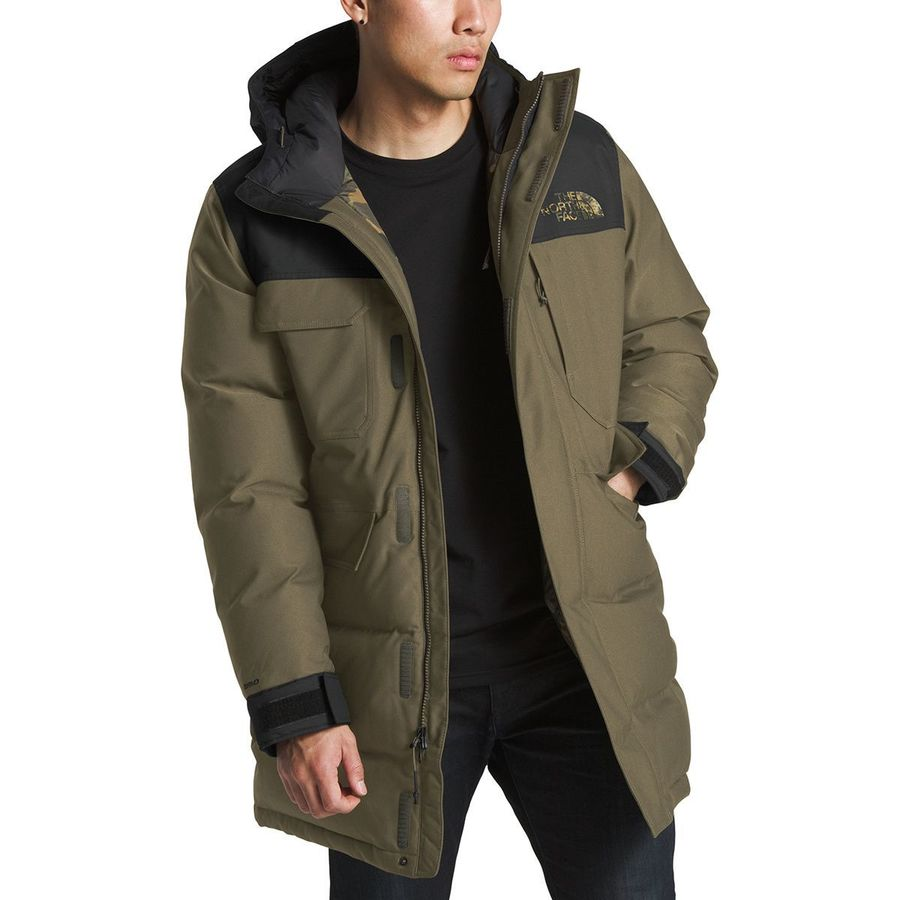0c21ea486efe The North Face - Biggie McMurdo Parka - Men s - New Taupe Green New Taupe