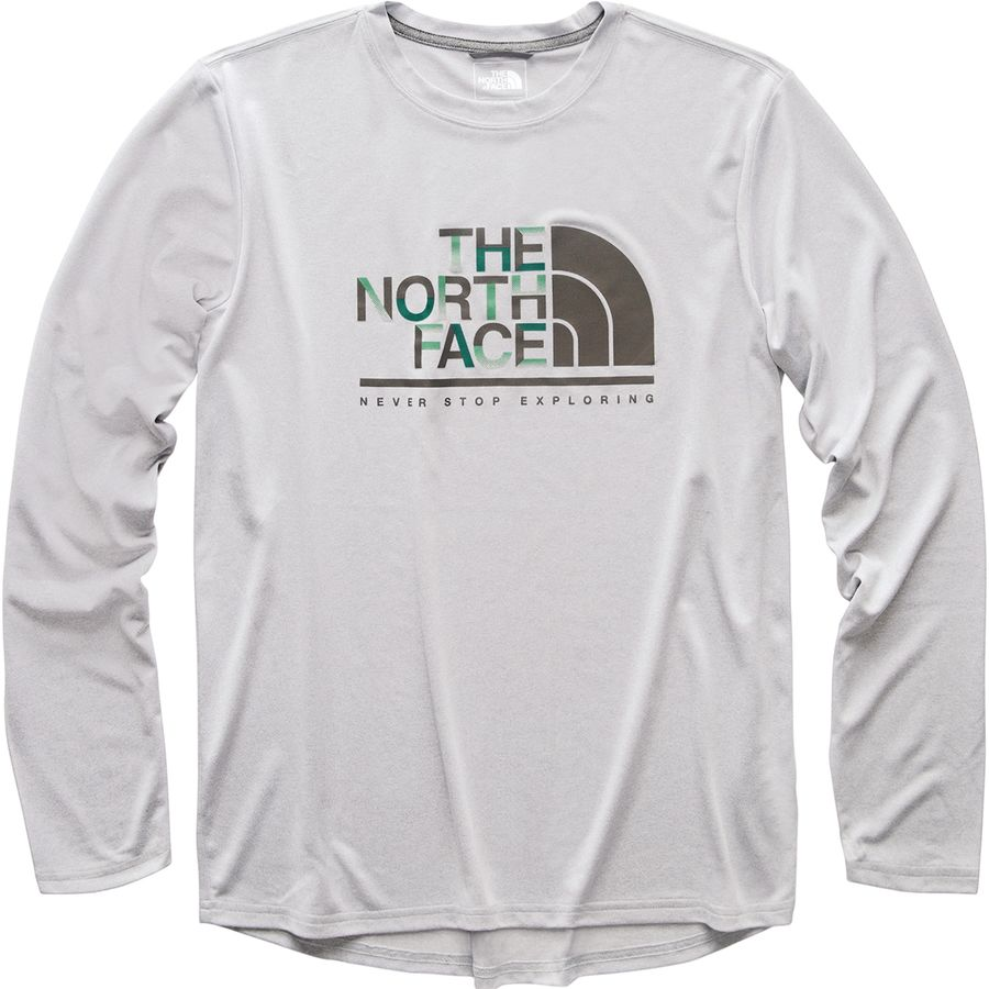 472500217b0 The North Face - Reaxion T-Shirt - Men s - Tnf Light Grey Heather