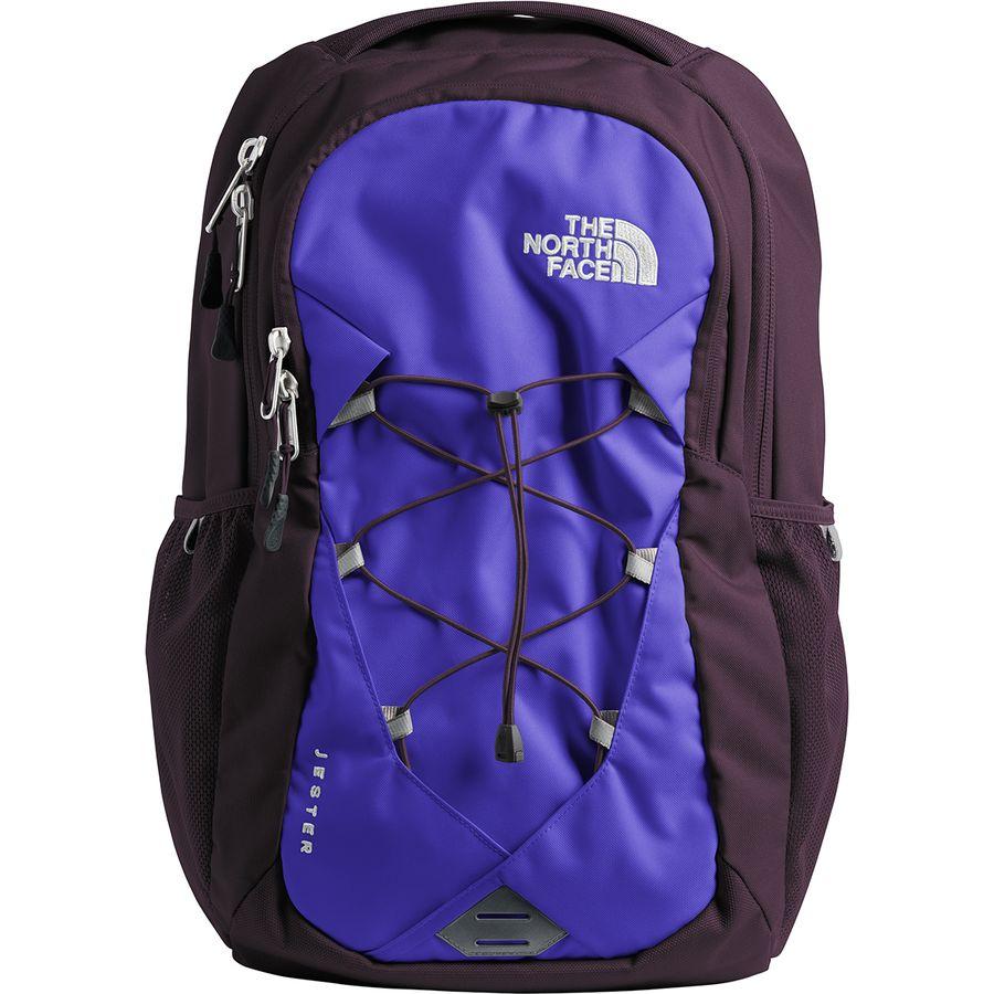 The North Face - Jester 28L Backpack - Women s - Deep Blue Galaxy Purple 34f63b40aa