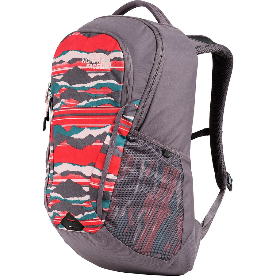 The North Face - Vault 26L Backpack - Women s - Juicy Red Landscape Stripe  Print  14284852d7
