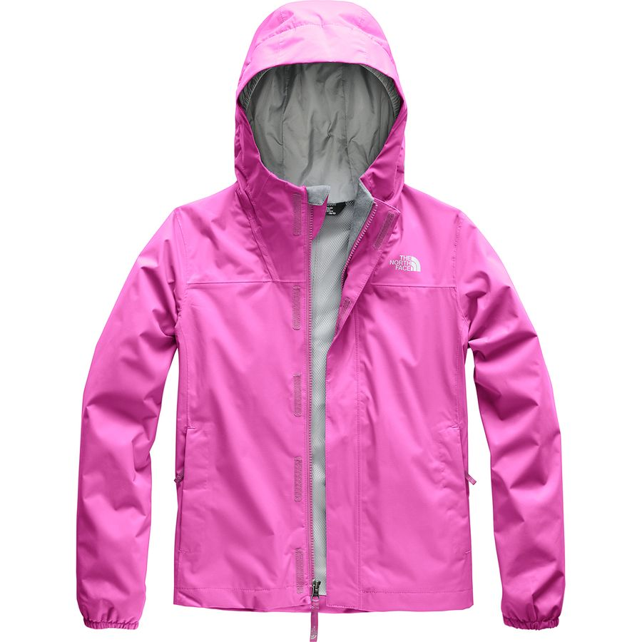 The North Face - Resolve Reflective Hooded Jacket - Girls  - Wisteria Purple 924c64c20