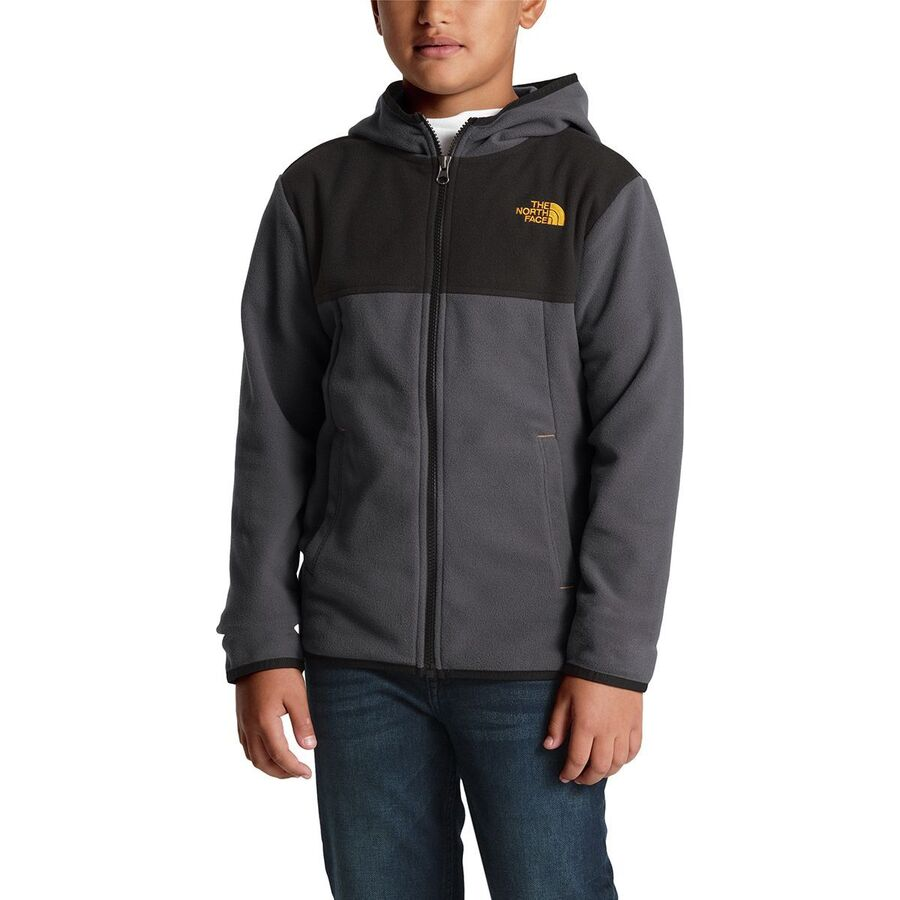 6b3220849eb5 ... promo code the north face glacier full zip hooded fleece jacket boys  graphite aefac 45584