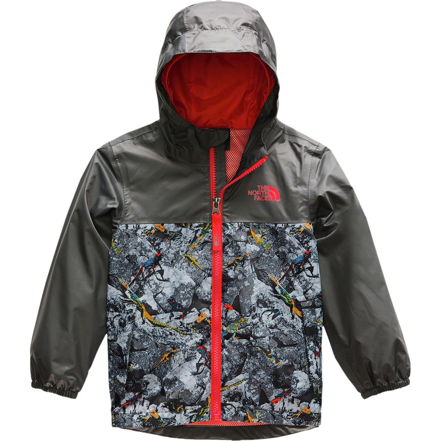 9f07253d1 The North Face - Zipline Rain Jacket - Toddler Boys' - Graphite Grey Lizard  Rock