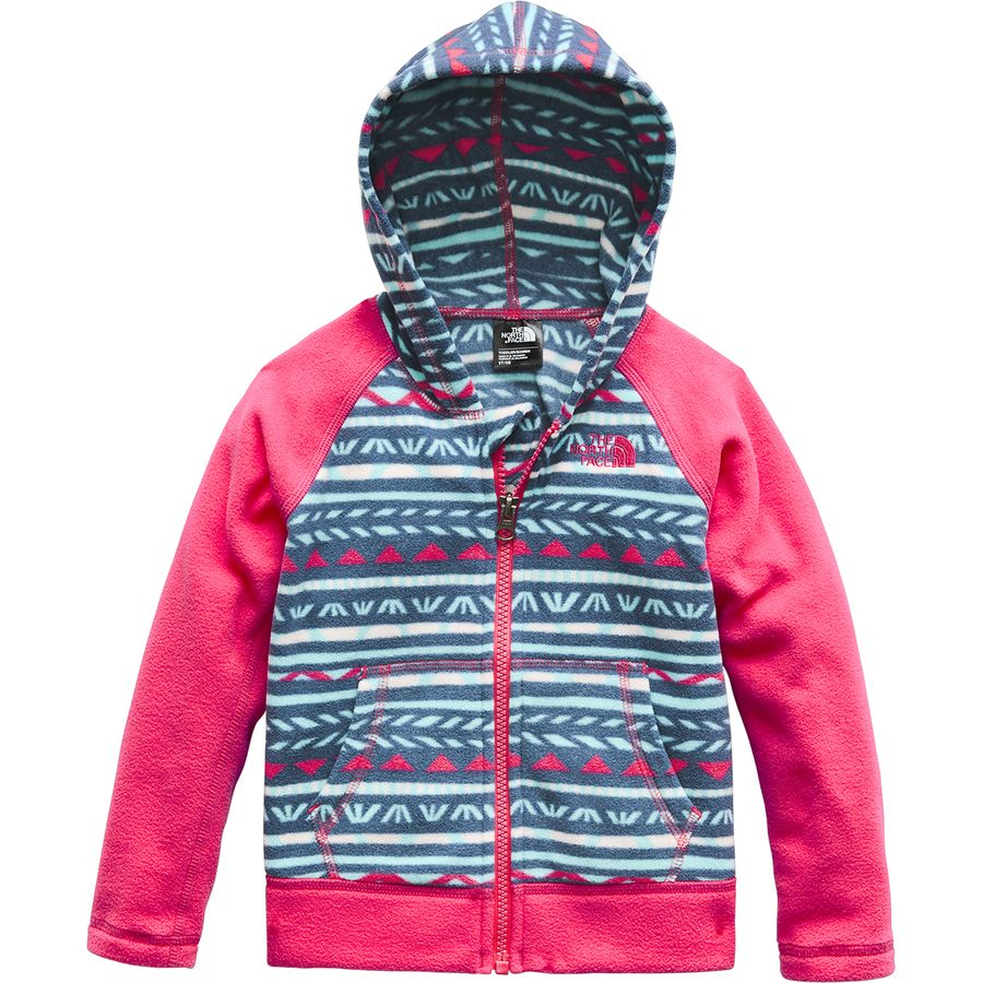 fb21d1e7f1d0 The North Face Glacier Full-Zip Hooded Jacket - Infant Girls ...
