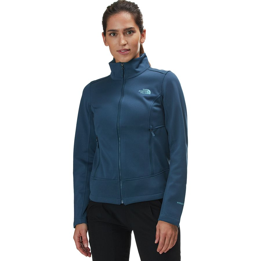 e92afcebfb9b The North Face - Apex Canyonwall Jacket - Women s - Blue Wing Teal Blue Wing