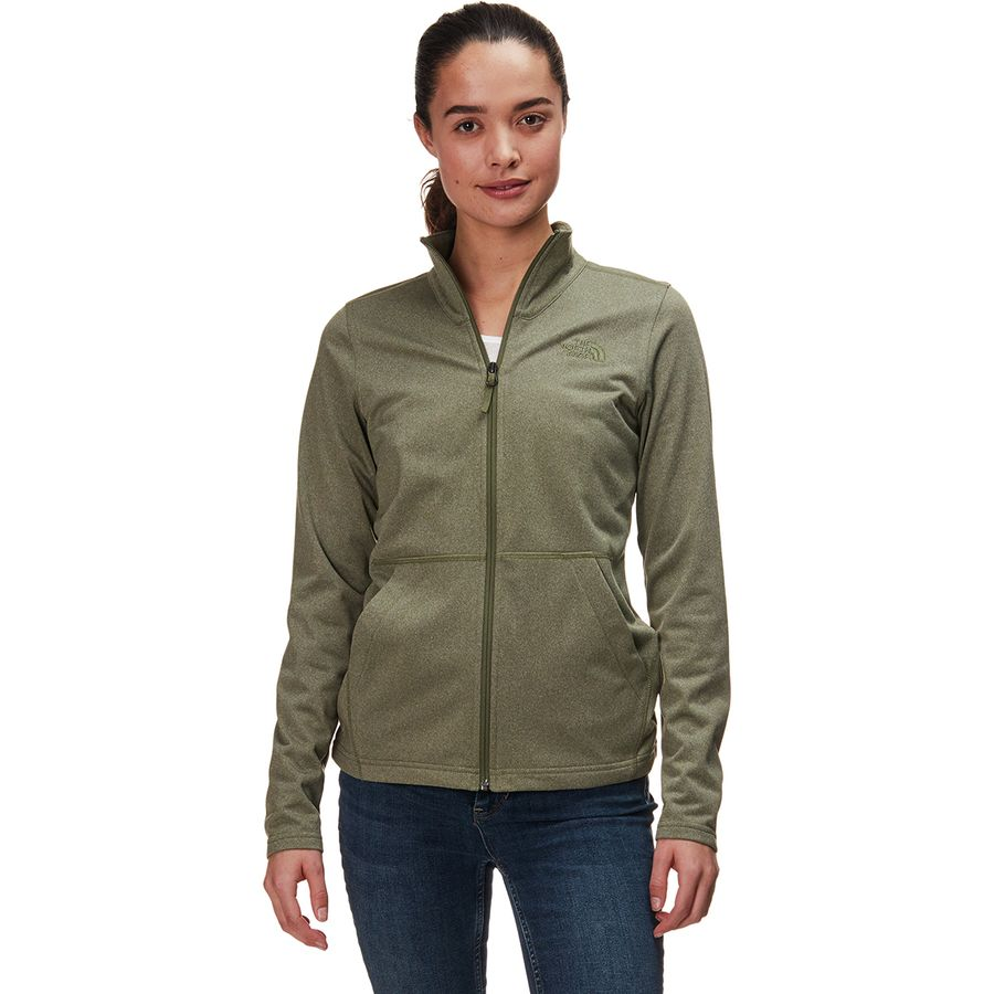 36f851ae7 The North Face Tech Mezzaluna Full-Zip Fleece Jacket - Women's