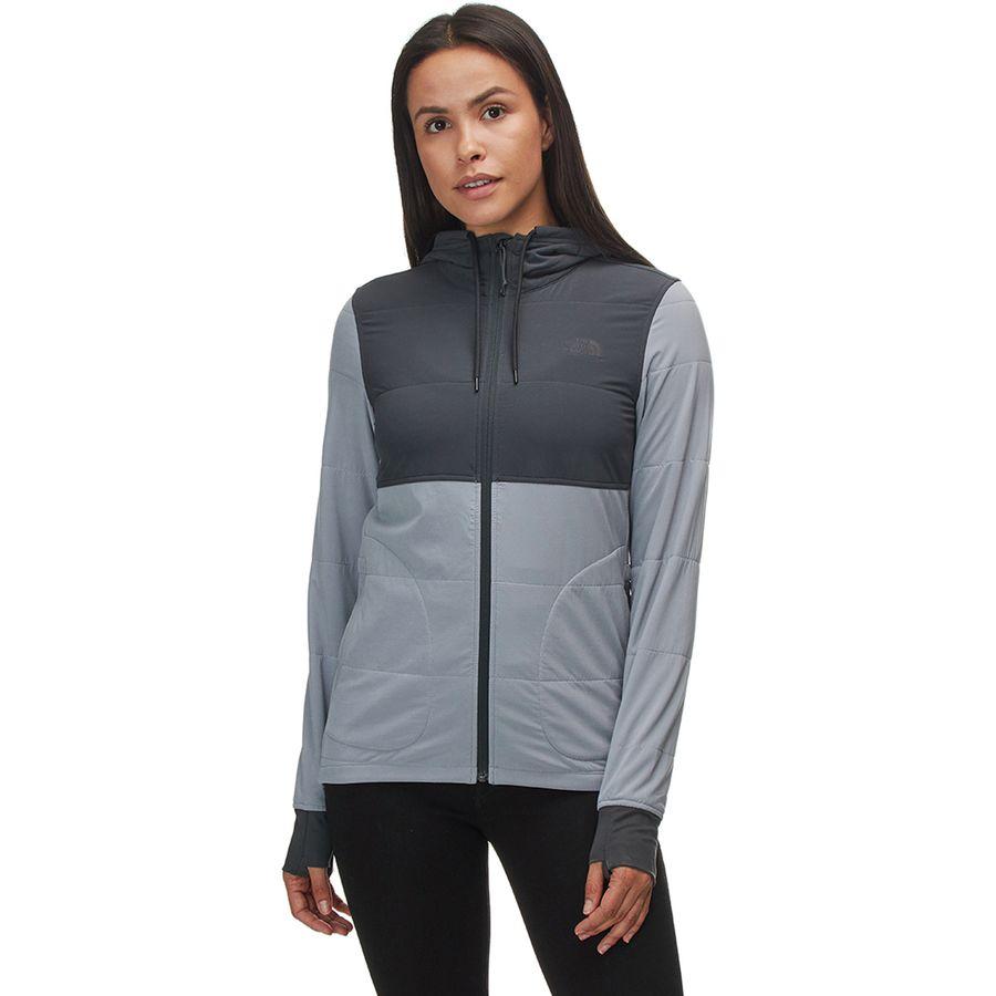 The North Face - Mountain Sweatshirt Full-Zip Hoodie - Women s - Asphalt  Grey  91e9fbec1