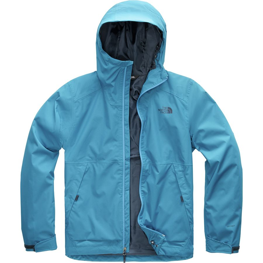 The North Face - Millerton Jacket - Men s - Heron Blue 97470ce9a