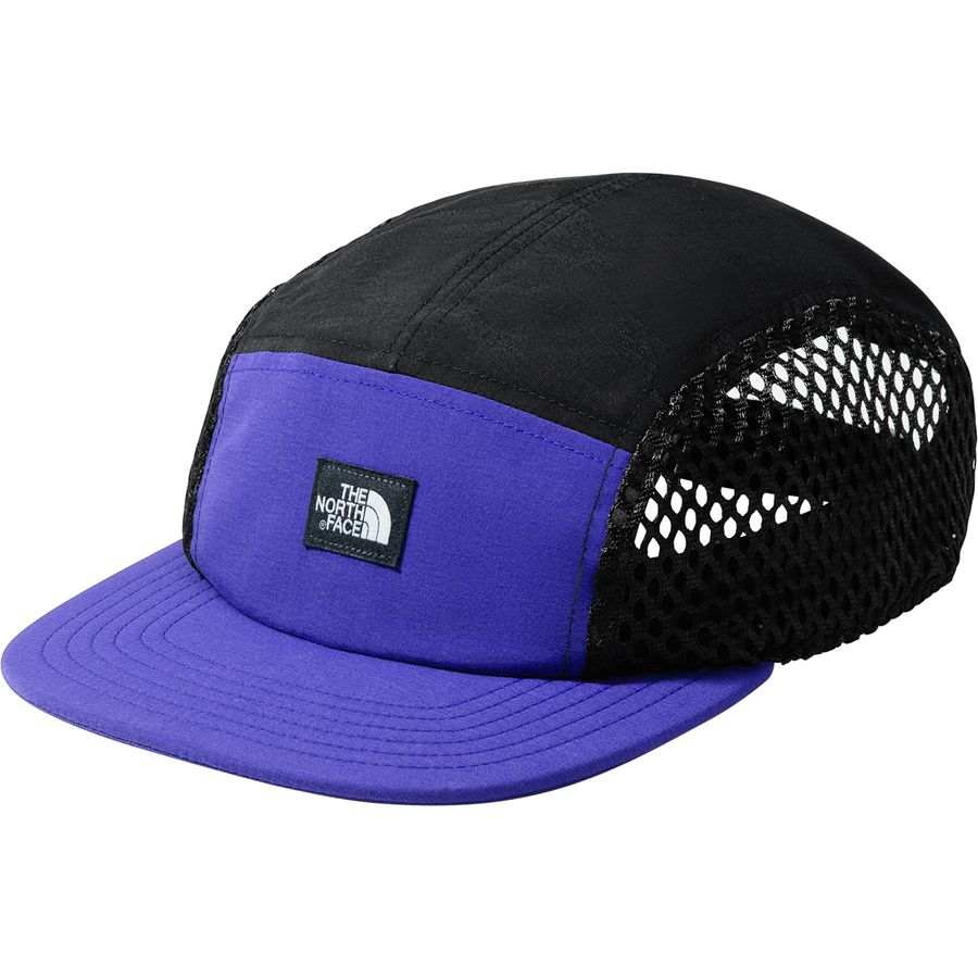 The North Face - Class V 5 Panel Hat - Aztec Blue Tnf Black 453156eff79a