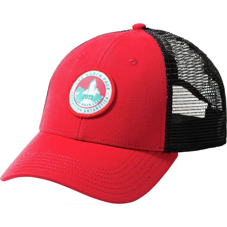 2f3947fd7a3 The North Face - Expedition Mudder Trucker Hat - Fiery Red Tnf Black