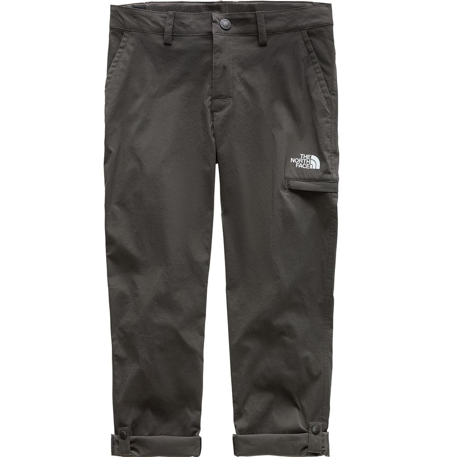 The North Face - Exploration Pant - Girls  - Graphite Grey f69704024940