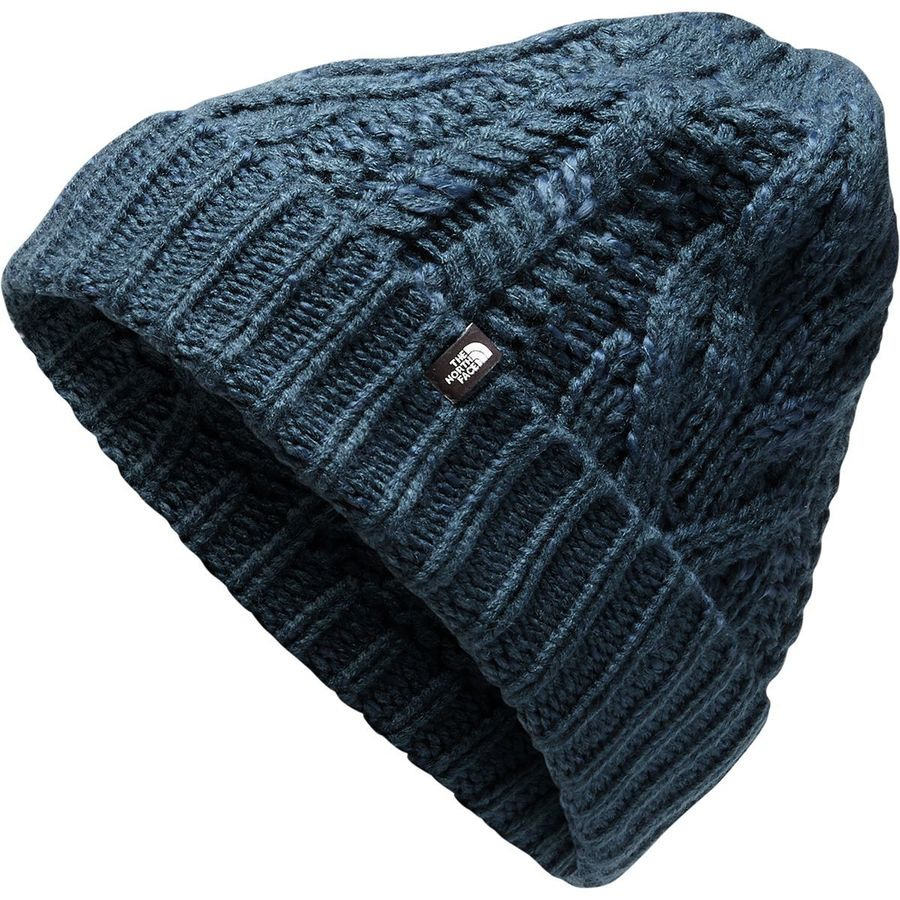The North Face - Cable Minna Beanie - Women s - Blue Wing Teal b7f7d4eec48